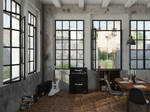 Industrial Music Room