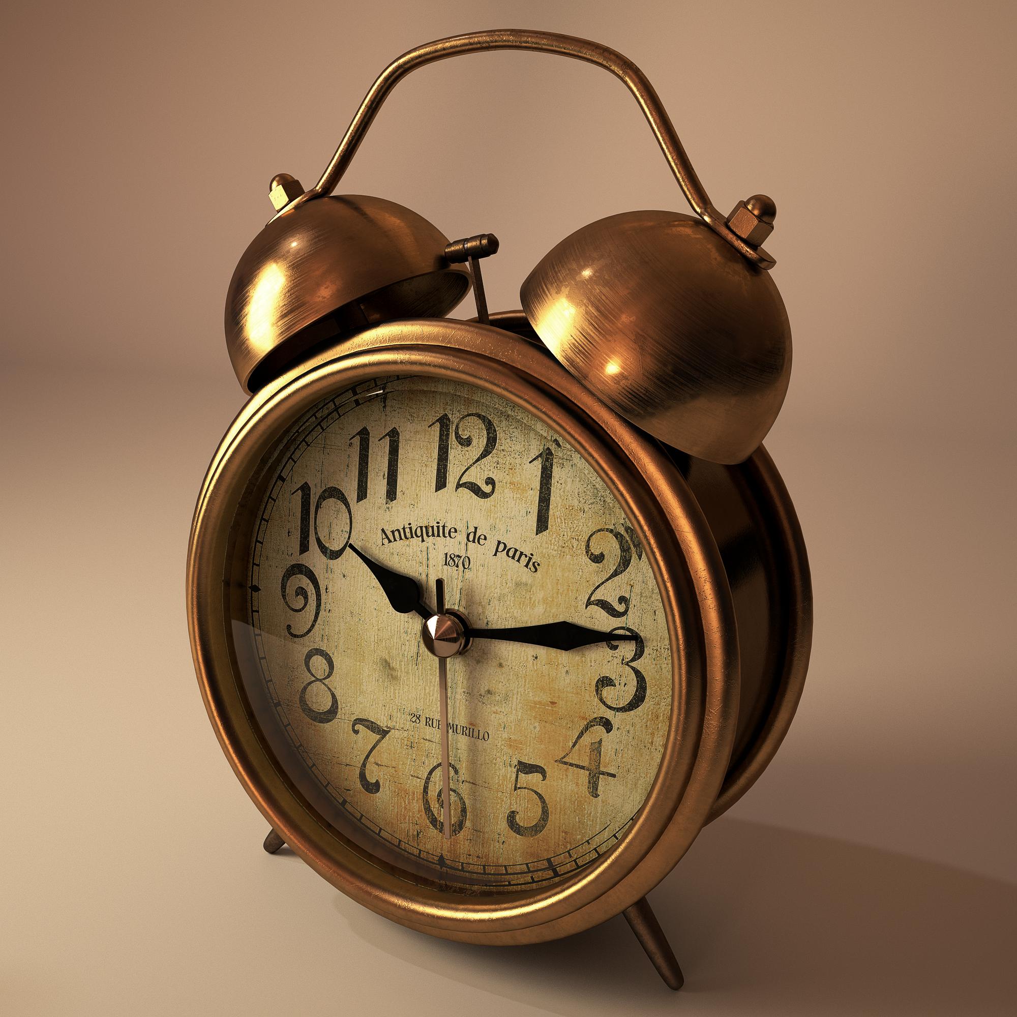 Old alarm clock by llMarcos