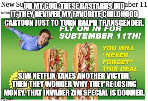 SJW Netflix takes another victim.