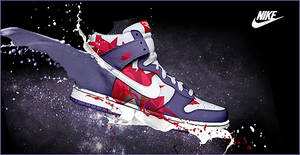 Sign Nike Shoe by ROH2X