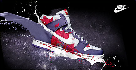 Sign Nike Shoe