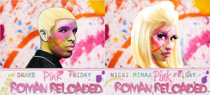CD Cover Drake - Pink Friday Reloaded