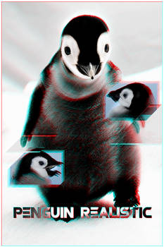 Photomanip Penguin realistic
