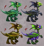 [OPEN 4/4] 25 EACH: Baby Dragons