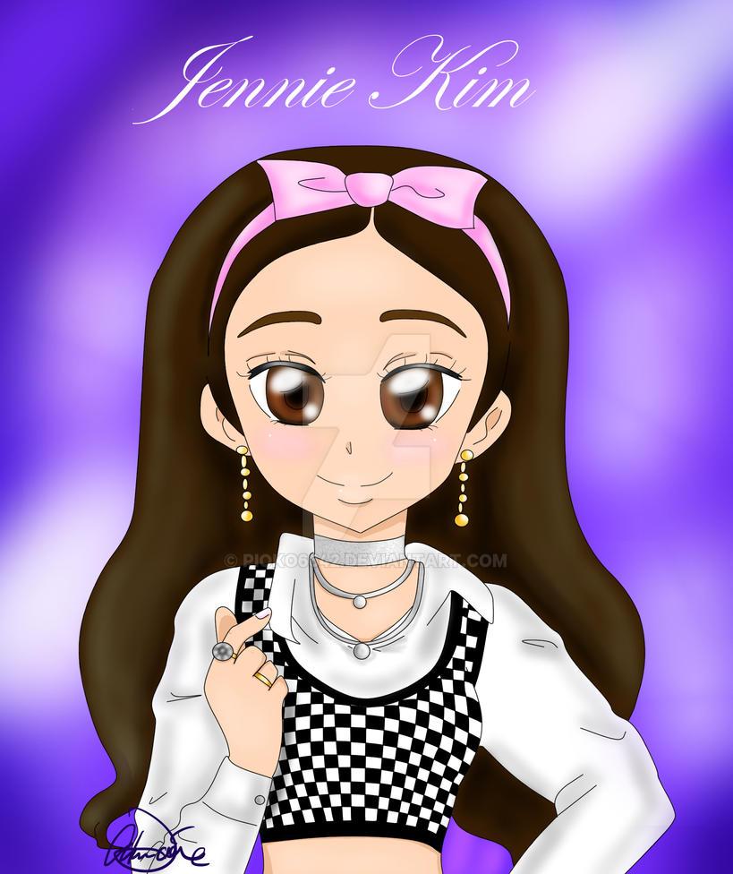 Foto Jennie Blackpink Anime