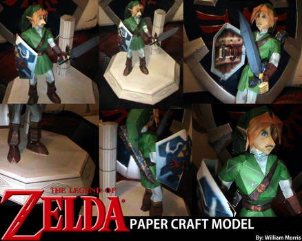 Legend of Zelda - Link - Paper craft