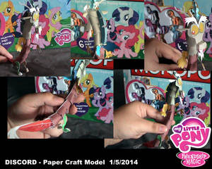 DISCORD - Paper Craft Model