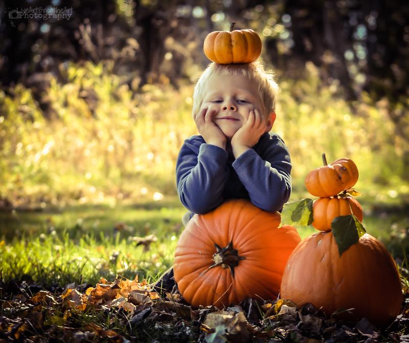 Pumpkin Head by LiveArtBreatheArt