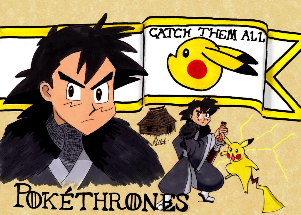 Pokethrones - Ash of House Ketchum by zdbzDA