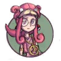 Pink Hippie Avatar by Azurdragon