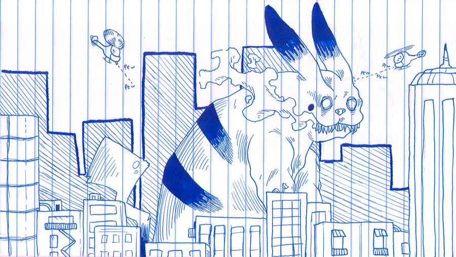 PikachOHGODRUNAWAY by Stereospirit