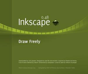 Inkscape 0.48 Splash Screen