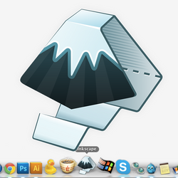 Inkscape for Mac OS X Icon