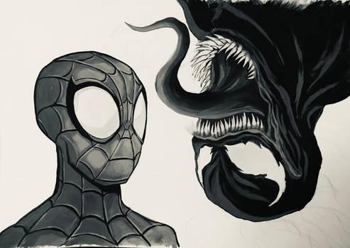WIP Spider-Man tutorial draw