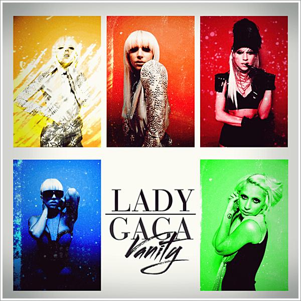 Lady GaGa - Vanity CD Cover by GaGanthony