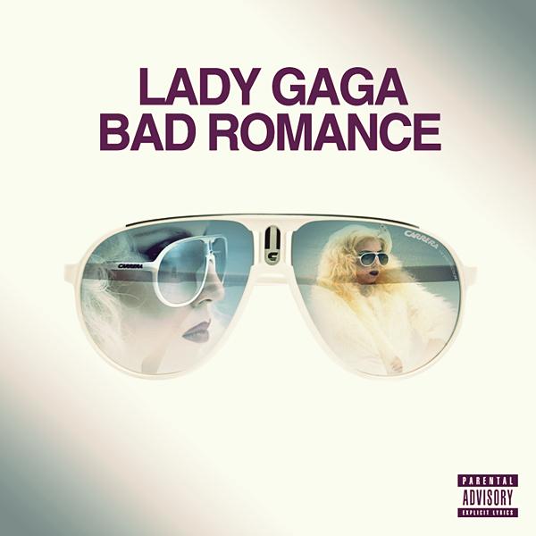 Lady GaGa - Bad Romance CD COVER by GaGanthony