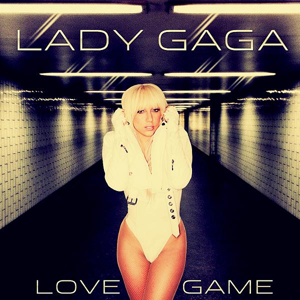 Lady GaGa - LoveGame CD COVER by GaGanthony