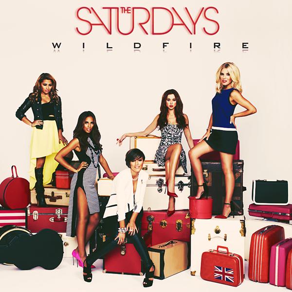 The Saturdays - Wildfire COVER
