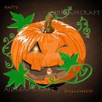 Halloween Pumpkin by AJ-anba17