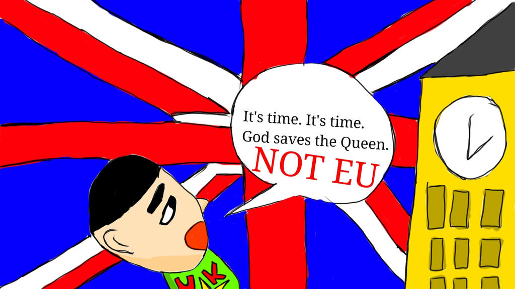 Quick Drawing: BREXIT By StarKevin20022002 On DeviantArt