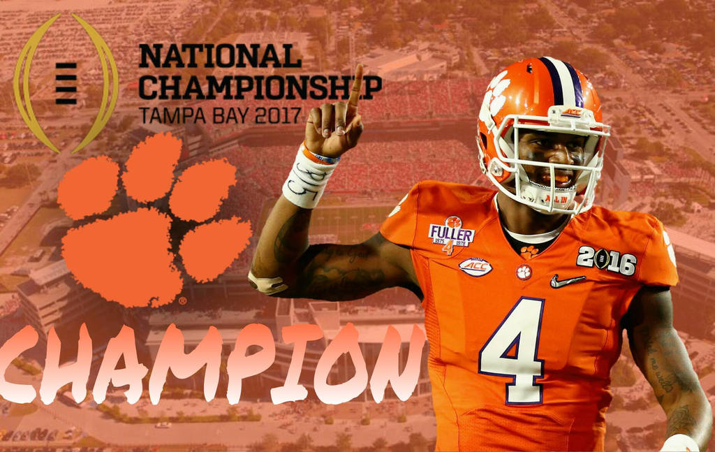 Clemson National Championship 2017s Champion By Starkevin20022002