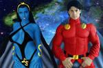 Legion of Super-Heroes:Mon-El and Shadow Lass