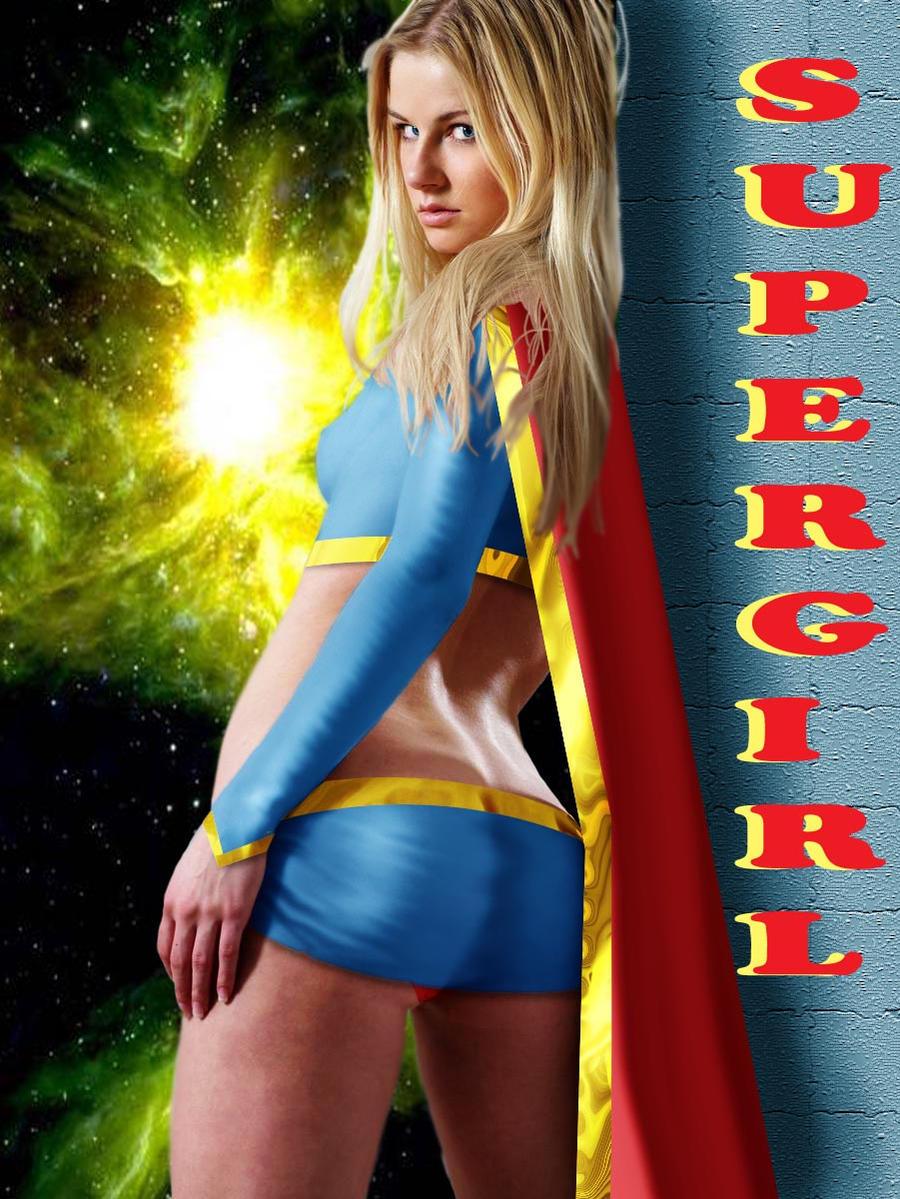 Supergirl again by DaswookofHeromorph