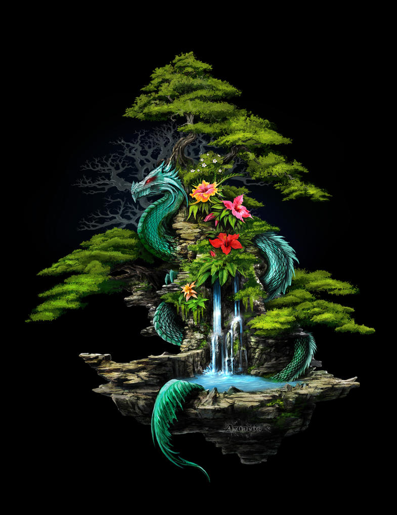 dragon shrine by Infested-mind on DeviantArt