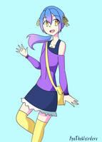 My OC Yumi by AyaTheWeirdere