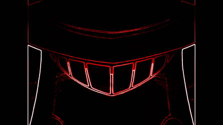 Brittle Bullet Close Up(neon)