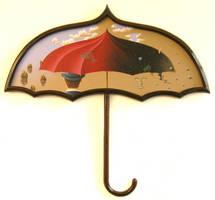 The Spacebrickumbrella by eikepopeike