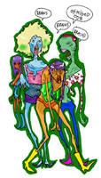 zombie top models