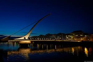 Samuel Beckett Bridge, Dublin by aryss-skahara