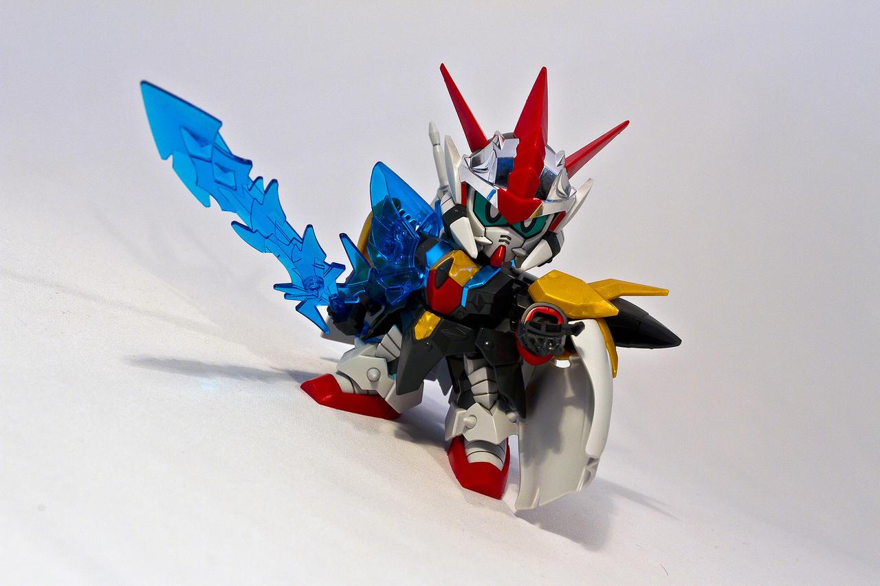 BB Legend Zero Gundam by aryss-skahara