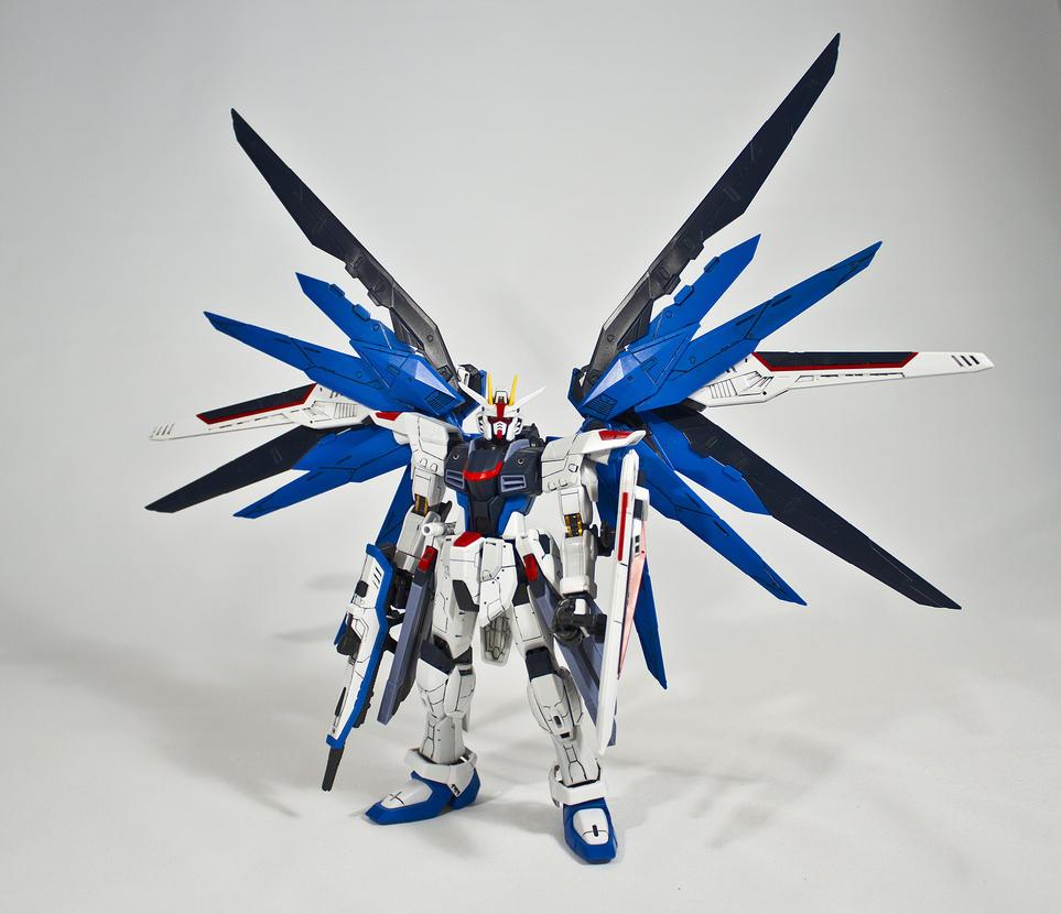 RG 1/144 ZGMF-10A Freedom Gundam by aryss-skahara