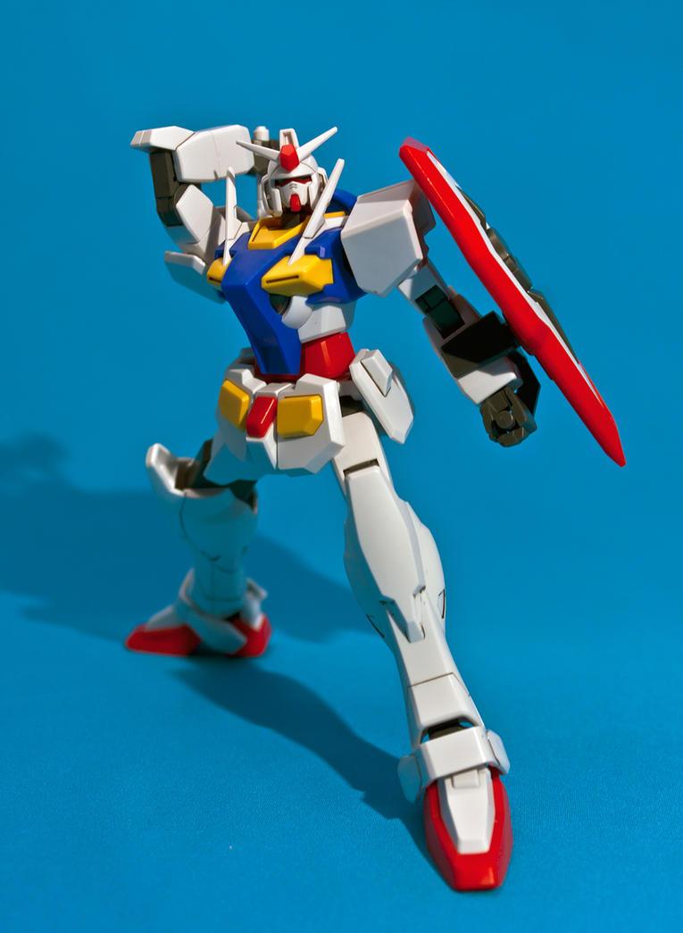 HG 1/144 0 Gundam by aryss-skahara