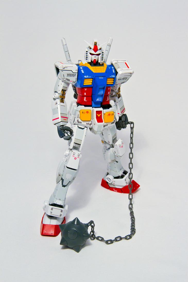 MG 1/100 RX-78-2 Gundam v3.0 by aryss-skahara