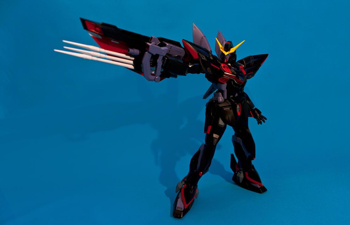 MG 1/100 GAT-X207 Blitz Gundam by aryss-skahara