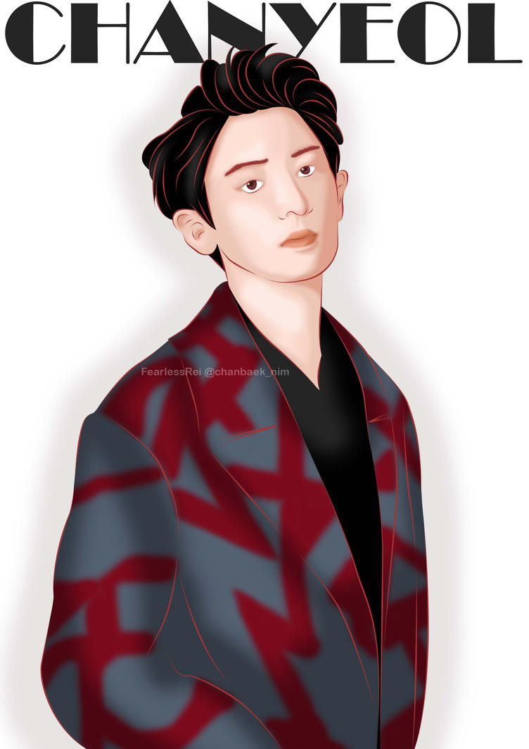 Chanyeol For Elle Men Magz By FearlessRei On DeviantArt