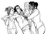 Female Bullying by CPericardium