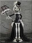 OOAK Victorian Goth Monster High doll