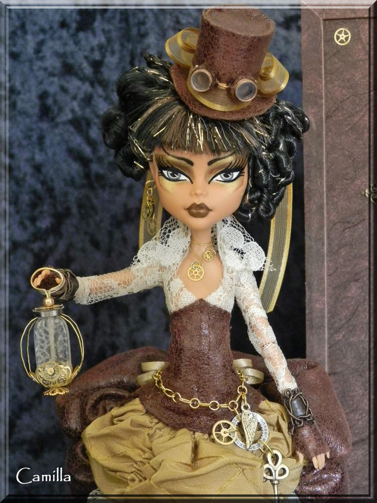 Muñecas Steampunk (O eso dicen) - Página 3 Camilla__custom_ooak_steampunk_time_traveler_by_kriskreations-d5bodb9