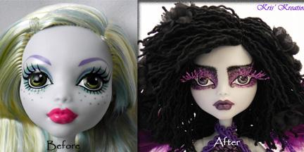 Lita-Custom OOAK Monster High Lagoona Fairy by KrisKreations
