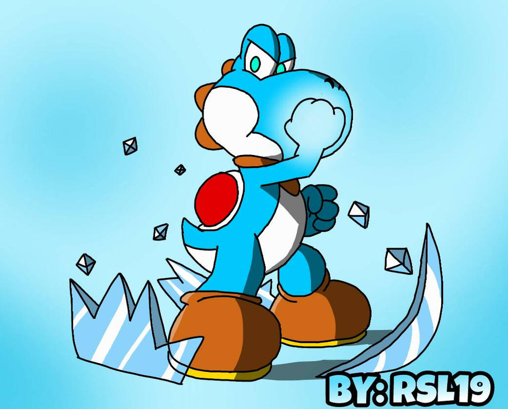 Freezing Greeny keeping it cool for YOU by Greeny-Yoshi-RSL19