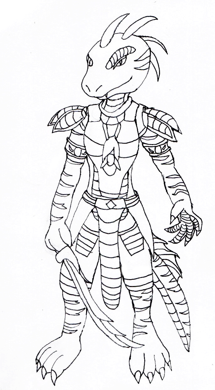 Line-Art of Arcanus by Typh39
