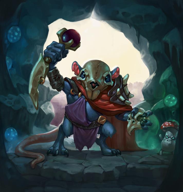 Rat_shaman by enterry