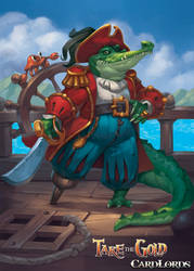 Captain Croc by enterry