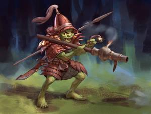 Goblin gunner concept