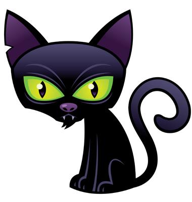 Halloween Black Cat by fizzgig