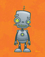 Silly Robot by fizzgig